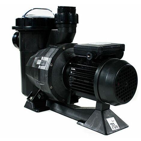 Pompe de filtration pour piscine pcclair 1cv mono, débit 16m3/h