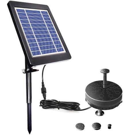 Pompe de fontaine 6V 3.5WSolar pour Birdbath