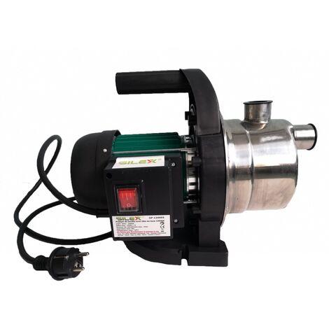 Pompe de jardin 3800l/h 1200W hauteur de débit 50m - tête inox Silex®