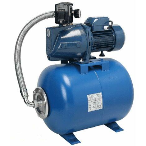 Pompe de jardin IBO JSW 200, 1800W, 100 l/min, 6 m3/h, 230V + ballon 80 L