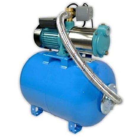 Pompe de jardin MHI1300INOX 400V, 1300 W, 100l/min, triphasée + ballon 24L