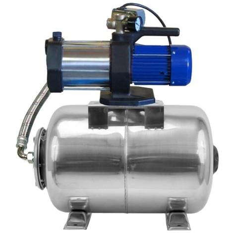 Pompe de jardin MULTI 1100 INOX, 1100 W, 5400 l/h, 230V + ballon INOX 50 L