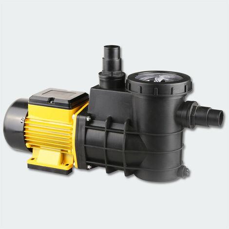 Pompe de piscine - filtre 8000l/h 380W circulation