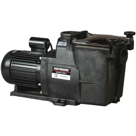 Pompe de piscine Hayward modèle Super Pump - Plusieurs puissance et raccords disponibles
