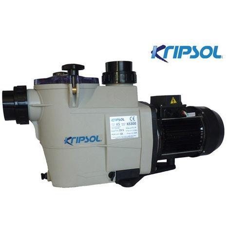 Pompe de piscine Kripsol KS - Pompe: Monophasé - Débit pompe piscine: 7,5 m³/h - 0,5 CV