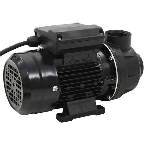 Pompe de piscine Noir 0,25 CH 7500 L/h