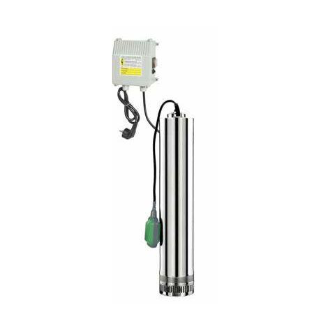 Pompe de puits 4 turbines 7800 litres / heure alimentation domestique