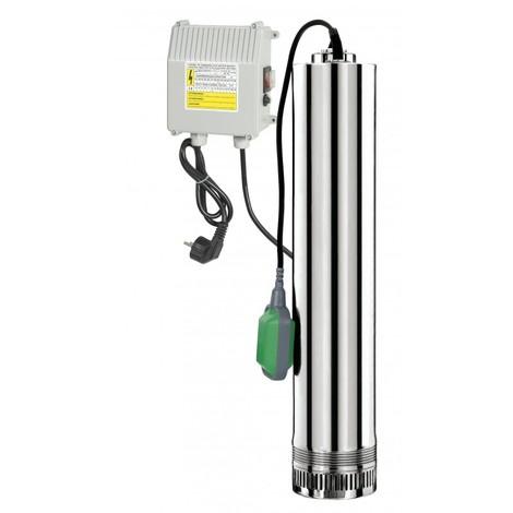 """main image of """"Pompe de puits 4 turbines pour eaux claires 750 Watts"""""""