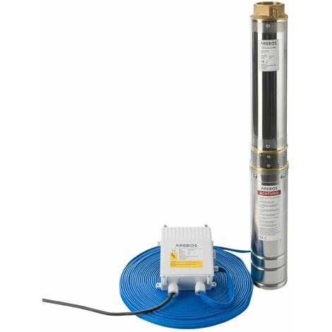 pompe de puits profond (4 pouces, 2200 W, 9000 l/h)