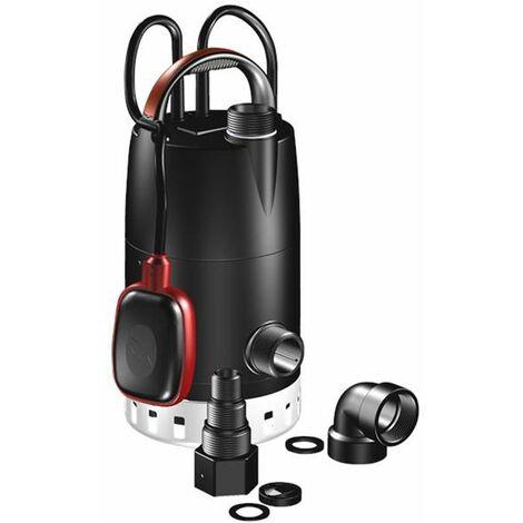 pompe de relevage 380w avec flotteur réglable - unilift cc7 a1 - grundfos