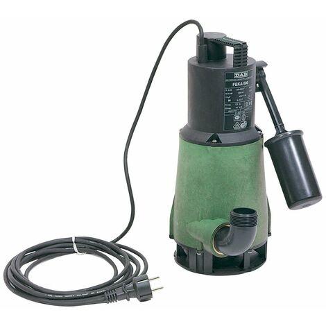 Pompe de relevage automatique DAB FEKA 600 MA SV avec flotteur pour l'evacuation de l'eaux usées 0,55kw Monophaséé Jetly immergéé