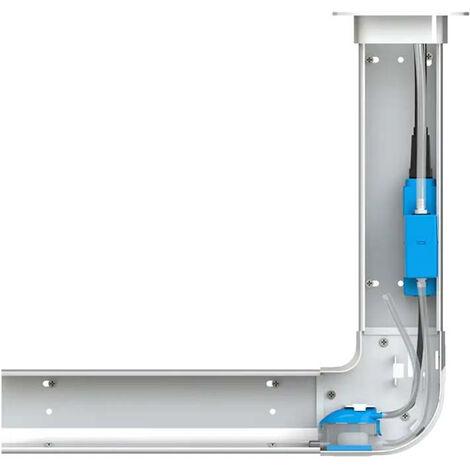 Pompe de relevage de condensats de climatiseur Sanicondens Clim Pack - goulotte blanche - SFA