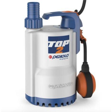 Pompe de relevage eaux pluviales monophasé 220V - 0.25Kw - 140L/min