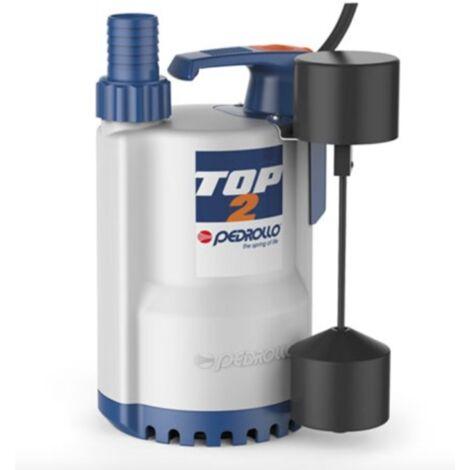 Pompe de relevage eaux pluviales monophasé 220V - 0.25Kw - 140L/min - Flotteur vertical