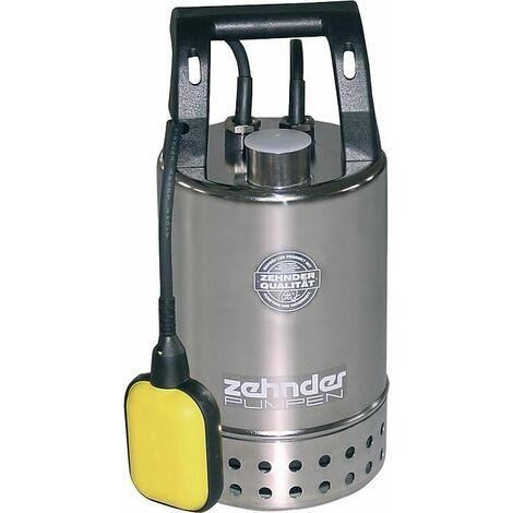 """Pompe de relevage eaux usées inox 1 1/4"""" fil fem 230V debit 9,5 l/h dim grains 10 mm pompe E-ZW 65A"""