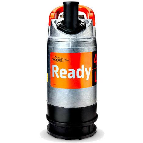 Pompe de relevage Flygt READY4 0,40 kW sans régulateur de niveau jusqu'à 15 m3/h monophasé 220V
