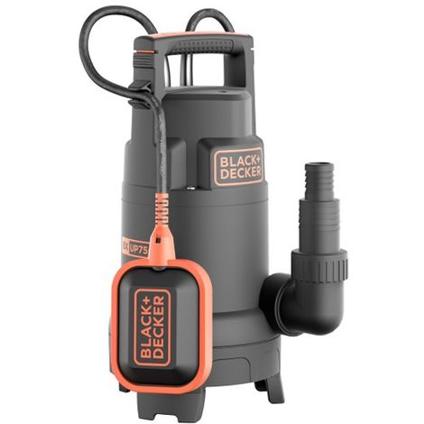 Pompe de relevage immergée Black and Decker BXUP750PTE