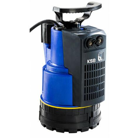 """Pompe de relevage KSB Ama-Drainer N vide cave jusqu'à 14 m3/h monophasé 220V   Eau claire - 220 V - 1""""1/4 - 33/42 F - 0,75 kW - De 10 à 2 HMT - De 0 à 12 m3/h - 6 Kg"""