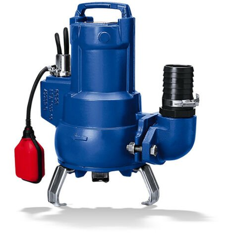 Pompe de relevage KSB Ama-Porter F500SE 1 kW roue Vortex jusqu'à 20 m3/h monophasé 220V