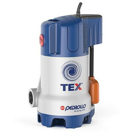Pompe de relevage Pedrollo TEX2 0,37 kW jusqu'à 10,8 m3/h monophasé 220V