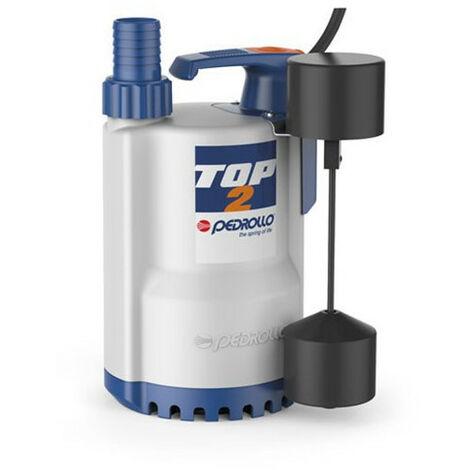 Pompe de relevage Pedrollo TOP1GM 0,25 kW jusqu'à 8,4 m3/h monophasé 220V