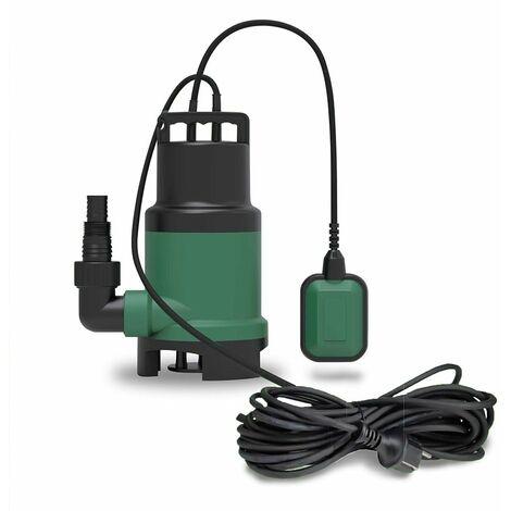 Pompe de relevage submersible pour eau chargée ou claire (piscine) 14m3/h