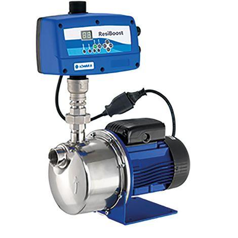 Pompe de surface LOWARA BGM3 RESIBOOST auto-amorçante BG avec système de commande à vitesse variable RESIBOOST - 3 m3/h - 37 m - Rp 1'' - Mono 230V - 50Hz - 0,37 kW