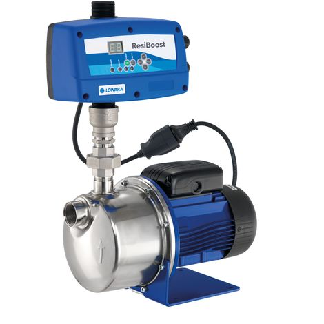 Pompe de surface LOWARA BGM9 RESIBOOST auto-amorçante BG avec système de commande à vitesse variable RESIBOOST - 3,9 m3/h - 50 m - Rp 1'' - Mono 230V - 50Hz - 0,90 kW