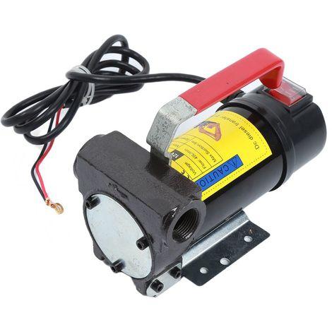 pompe de transfert de diesel Huile d'auto-amorçage de carburant portatif de 12 volts DC Bio