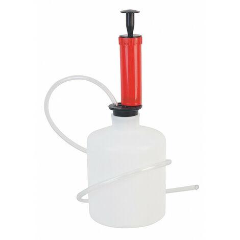 Pompe de vidange manuelle 1,6L avec 2 tuyaux pvc - AUTOBEST