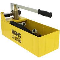 Pompe d'épreuve à main avec manomètre REMS Push - REMS Push