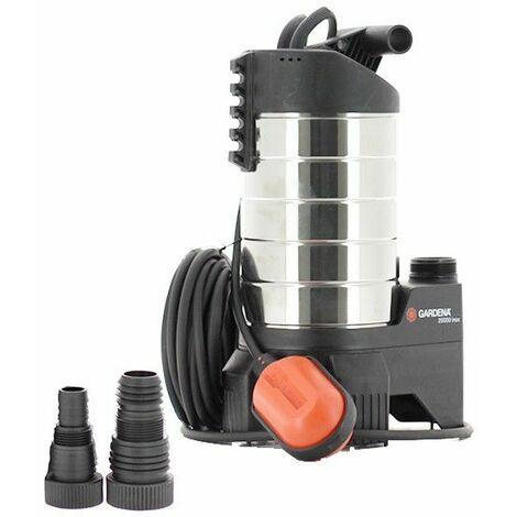Pompe d'évacuation 20000 inox Premium de Gardena - Catégorie Pompe de relevage eaux chargées