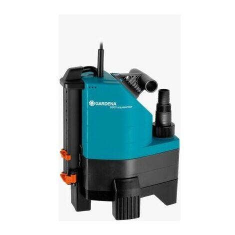 Pompe d'évacuation pour eaux chargées Aquasensor 8500 - GARDENA 1797-20