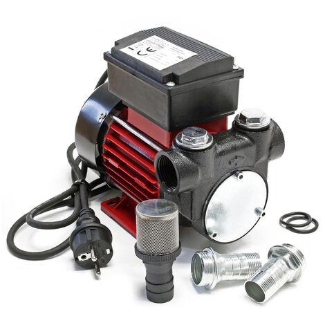 Pompe diesel auto-amorçante 230V avec 60l/min pour gazole & huile de chauffage