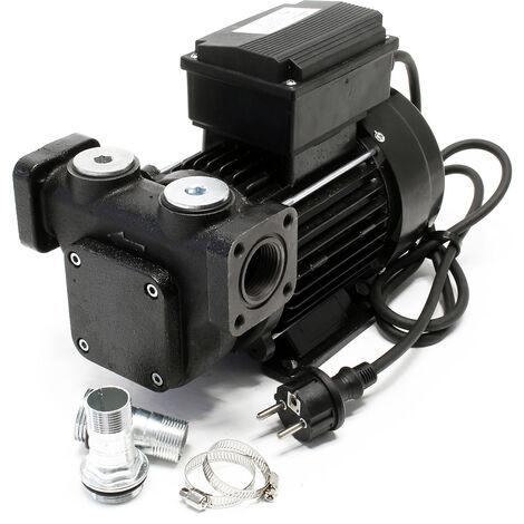 Pompe Diesel Auto aspirante 100l/min 750W 230V Hauteur d'aspiration 3m Fuel Pompe à huile Gasoil