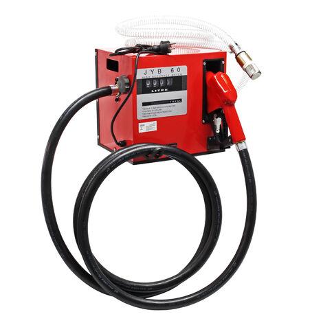 Pompe Diesel Auto aspirante 60l/min 550 Watts 230 Volts Arrêt automatique Pompe à huile Fuel Gasoil