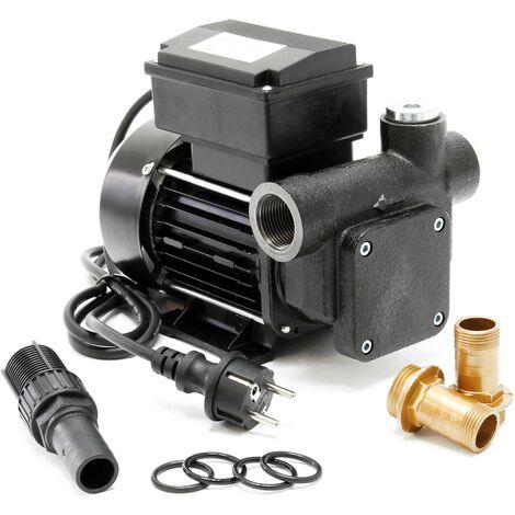 Pompe Diesel Auto aspirante 80l/min 550 Watts 230V Hauteur d'aspiration 3m Fuel Pompe à huile Gasoil