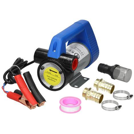 Pompe diesel électrique 12V/175W transférer mazout version auto-amorçante