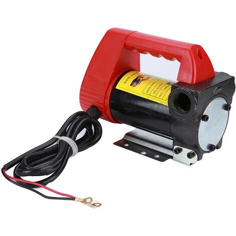 Pompe Diesel Portatif 12V 2400L / H Pompe à Fioul 175W Pompe de Transfert