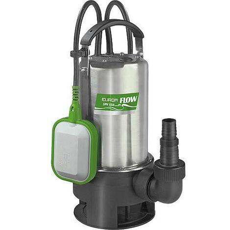 Pompe d'immersion eaux usées Flow SPV 550 avec flotteur