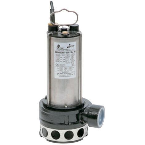 Pompe eau usée DAB SEMISOMH635MCD 1,1 kW sortie horizontale de 6 à 30 m3/h monophasé 220V