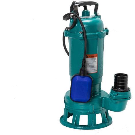 Pompe eaux chargées avec broyeur CTR1500, 400l/min, 1500W, 230V