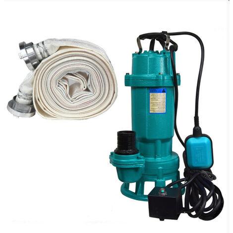 Pompe eaux usées + broyeur FURIATKA1500+20M, 1500W 230V tuyau 20m
