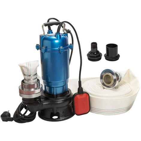 Pompe eaux usées, MAGNUM750+30M, 750W, 450l/min, petite taille+tuyau