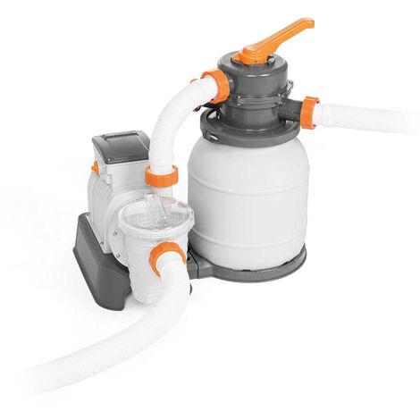 Pompe filtre à sable Bestway Flowclear 58497 de 5678 L/h pour piscine