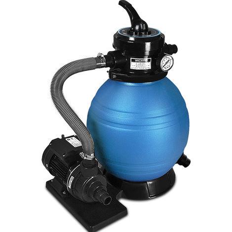 pompe filtre sable et particule 10200 l h avec pompe. Black Bedroom Furniture Sets. Home Design Ideas
