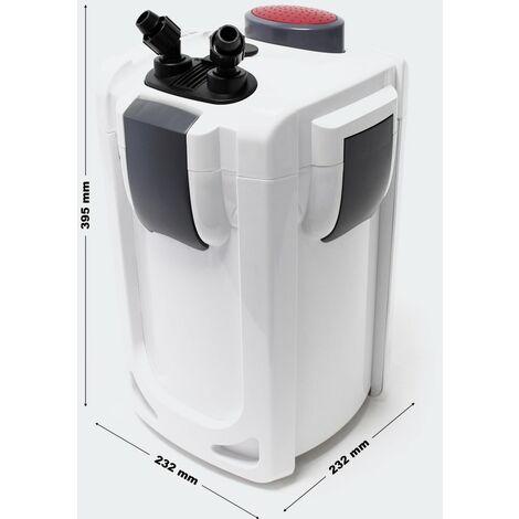 Pompe filtre aquarium bio extérieur 1 000 litres par heure 15W
