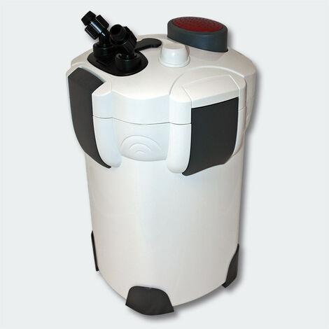 Pompe filtre aquarium bio extérieur 1 400 litres par heure - Noir