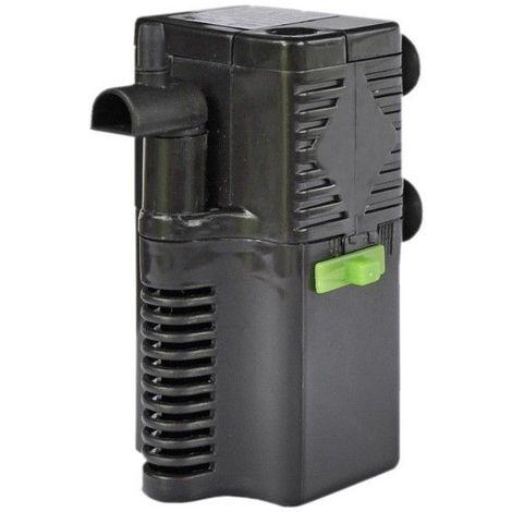 Pompe filtre intérieur 350 pour aquariums de 60 litres