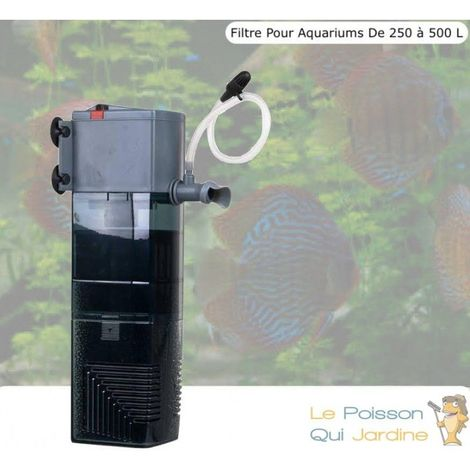 Pompe filtre intérieur pour aquariums de 250 à 500 litres. Top qualité